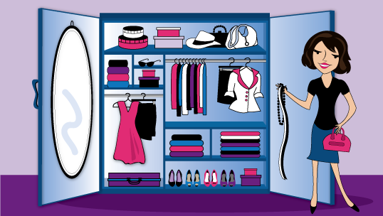 This Is The First Series Of Blog Posts On How To Organize Your Wardrobe  Once And For All. After All, Learning How To Organize Your Wardrobe Will  Save You So ...