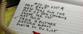 How To Write An Effective To Do Lists & Follow It Through